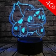 Bulbasaur Colour Changing 3D Light