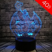 Charizard Colour Changing 3D Light