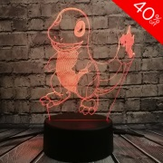 Charmander Colour Changing 3D Light