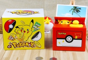 Pikachu Coin Box