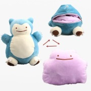 Snorlax/Ditton inside-out Plushie