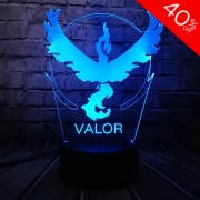 Team Valor Colour Changing 3D Light