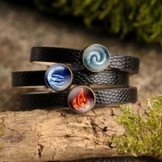Avatar Themed Leather Bracelets