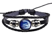 Water Nation Leather Bracelet