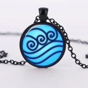 Water Tribe Glass Pendant