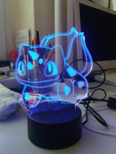 Bulbasaur Colour Changing 3D Light photo review