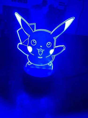 Pikachu Happy Colour Changing 3D Light photo review