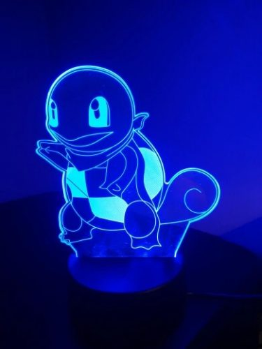 Squirtle Colour Changing 3D Light photo review